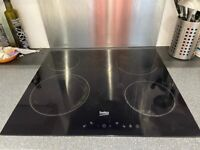 Beko built in hob and oven
