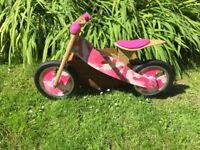 Apollo Wooden Balance Bike