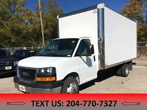 2014 GMC Savana 3500 1SD 16' CUBE