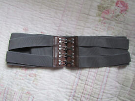 Nice belt with metal hooks, never worn. Size S/M, £10