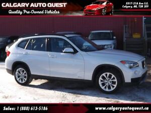 2014 BMW X1 xDrive28i AWD / SUNROOF / LEATHER