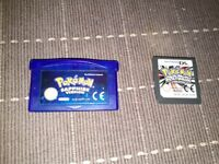 Gameboy Advance and Nintendo ds Pokemon games for sale