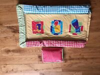 A brand new changing mat plus a portable Huggies changing mat