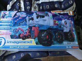 Imaginext Battle Rover & Space Shuttle