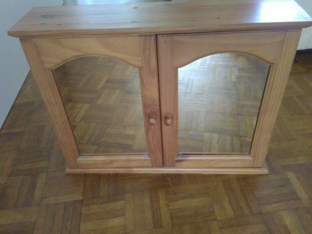 Roper Rhodes Pine Bathroom Cabinet Mirror