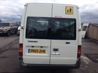FORD TRANSIT 12 SEATER MINIBUS FOR SALE