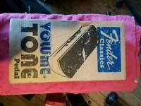 Fender classic volume-tone pedal
