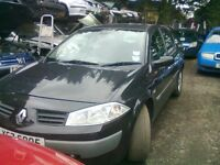 2005 RENAULT MEGANE 1.5 DCI BREAKING FOR PARTS