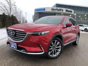 2017 Mazda CX-9 GT GT AWD LEATHER, POWER LIFEGATE, GPS, 8 SCREEN