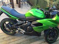 ER6F mot tax Kawasaki brilliant bike