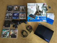 PS3 500GB Console & 9 Games