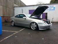 Clk coupe 2.3 supercharged modiefied. (Gearbox fault)