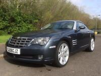 Chrysler Crossfire 3.2 , LOW MILES, GOING FOR NEW MOT 2006 (06 reg), Coupe , LEATHER ,
