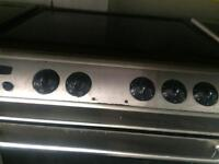 Stainless steel tricity bendx 60cm gas cooker grill & fan oven good condition with guarantee