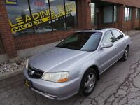 2002 Acura TL 3.2 LEATHER AND SUNROOF