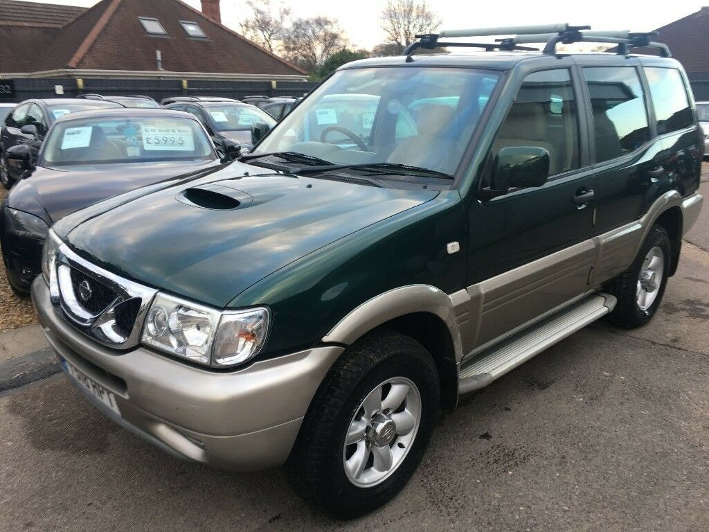 2001 y nissan terrano ii 2 7 tdi se station wagon 5dr 4x4 low mileage example service history. Black Bedroom Furniture Sets. Home Design Ideas