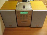 SONY mini hi-fi system CD, Tape, Radio with remote control