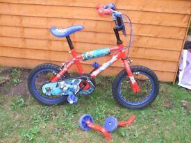 Childs Spiderman Bike