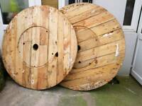 Large cable drum