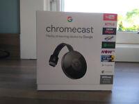 Google Chromecast 2, brand new & sealed in box - £20