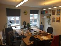 Shoreditch office for up to 6 people- 1 minute from Box Park