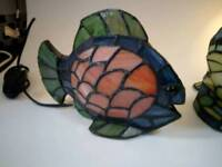 Fish Tiffany style lamp