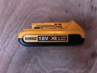 Dewalt 2ah battery 2.0ah