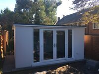 15 SQM 5m x 3m Garden Room / Home Office / Summer House / Log Cabin
