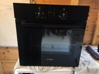Single Oven Black