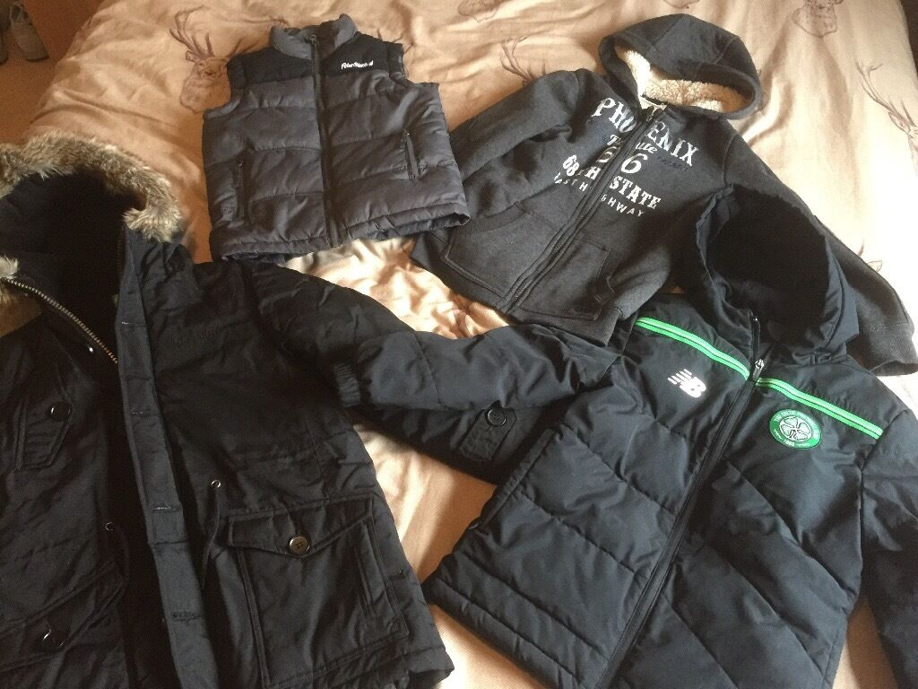 Massive Boys Bundle age 8in Bucksburn, AberdeenGumtree - Massive clear out includes Rocha navy suit and Ralph Lauren shirt. Black winter jacket never worn, good condition adidas tracksuit tops, football strips, Man City and Celtic third kits like new, Celtic home kit well worn but might be used for playing...