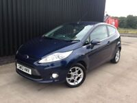 2012 Ford Fiesta 1.25 Zetec 3dr Service History, Alloy Wheels, 12Months MOT Finance Available May PX
