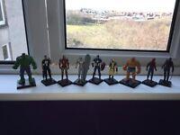 Solid Marvel pewter Figurines