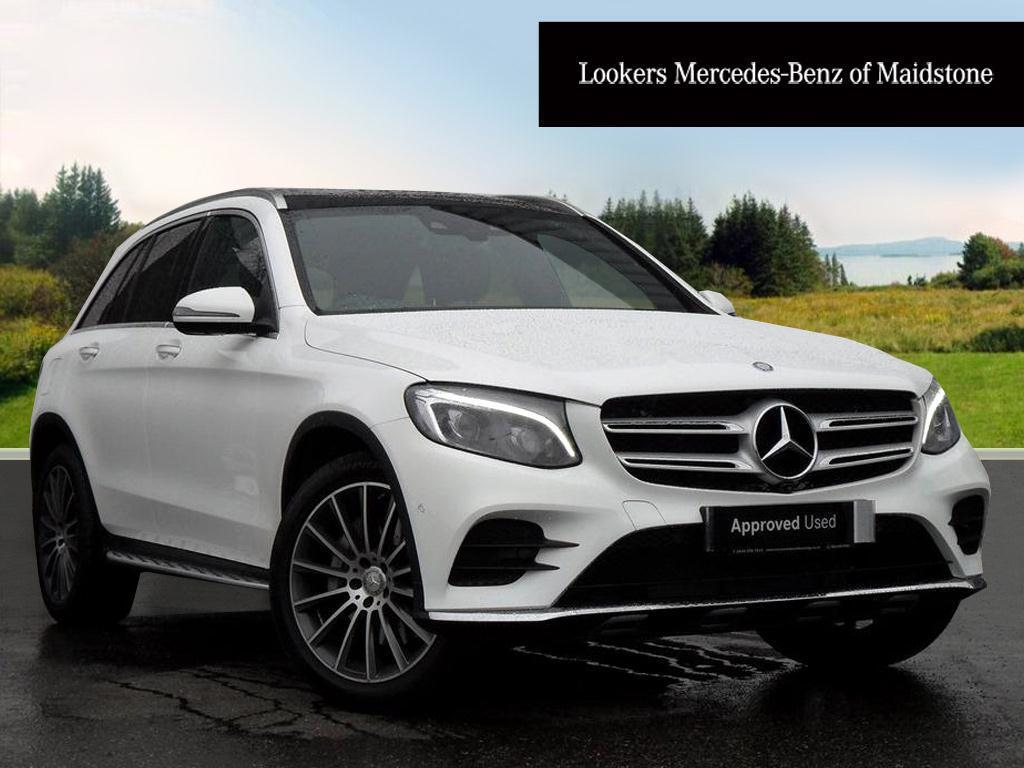 mercedes benz glc class glc 250 d 4matic amg line premium white 2016 03 31 in maidstone. Black Bedroom Furniture Sets. Home Design Ideas