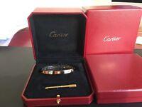 Cartier love bangle 10 diamond