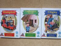Children's DVDs - Boxed set of, Trumpton, Camberwick Green and Chigley