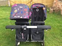 bugaboo donkey double pushchair ONLY used a few months