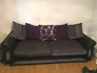Scs scatter cushion 4 seater sofa and chair