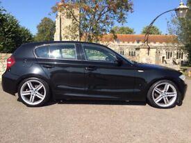 BMW 1 SERIES 116i M SPORT 2009, 1.6 LITRE, LOW MILES
