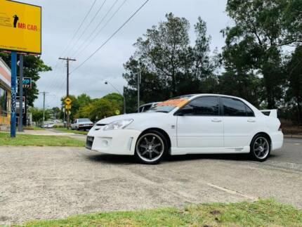 2006 Mitsubishi Lancer Auto SPORTS Evo Body Kit LOW KS LOGBOOKS Sutherland Sutherland Area Preview