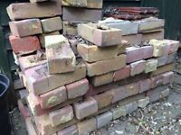 Bricks for Sale - 180+ Funton Yellow/Red Mixed Colour London Stock