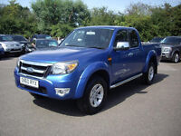 2011 Ford Ranger Thunder 4x4 Dcb Tdci DIESEL MANUAL Blue 78k