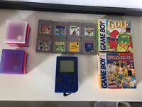 Nintendo Gameboy Pocket with Ten Games