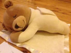 Prince Lionheart Slumber Bear with Silkie