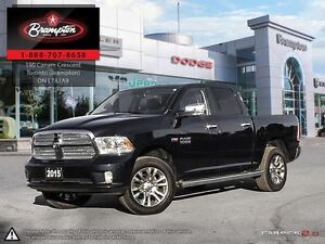 2015 Ram 1500 Laramie Limited|LEATHER|SUNROOF|BACK UP CAMERA