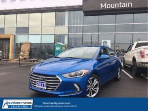 2017 Hyundai Elantra GLS | SUNROOF | BLUETOOTH | ALLOY WHEELS