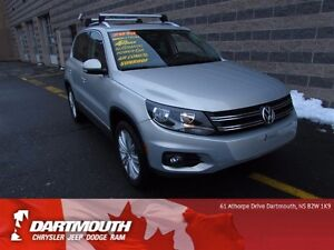 2013 Volkswagen Tiguan S/LEATHER/ALL WHEEL DRIVE