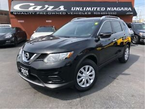 2015 Nissan Rogue S | AWD | NO ACCIDENTS | CAMERA | 29,350 KM ..