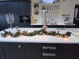 This is a christmas garland 6 ft long with light has multiple uses great on mantle