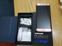Samsung Galaxy S7 EDGE - 32GB - PINK (Unlocked) Smartphone
