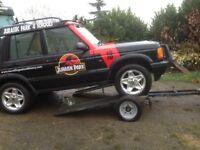 Braked Heavy duty car/van Towing Dolly